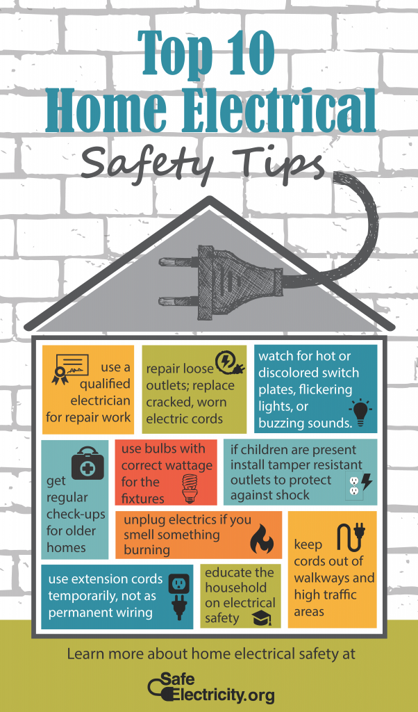 Top 10 Electrical Safety Tips