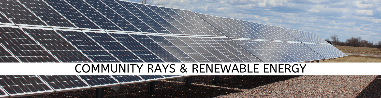 Rays and Renewables